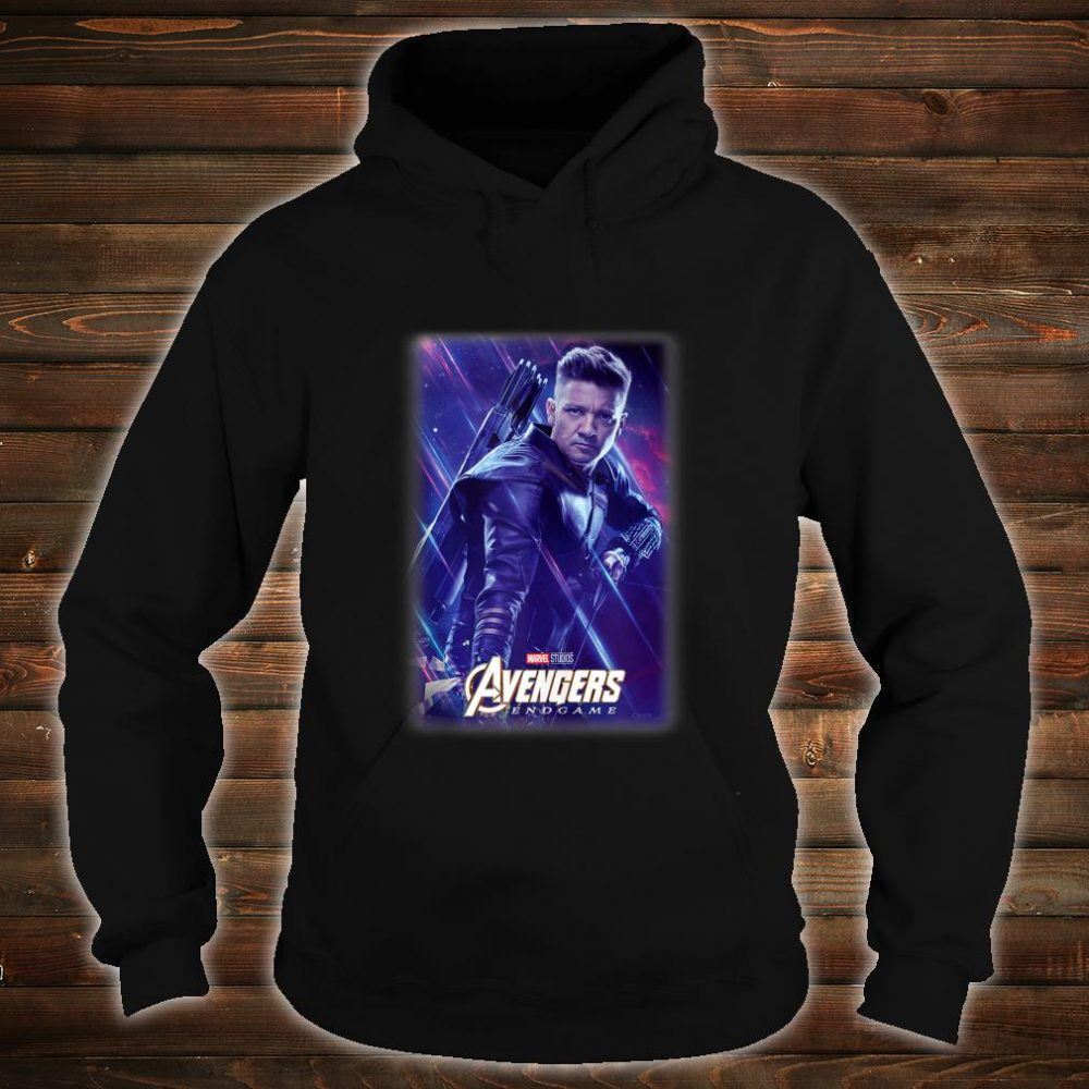 Marvel Avengers Endgame Hawkeye Galactic Poster Shirt hoodie