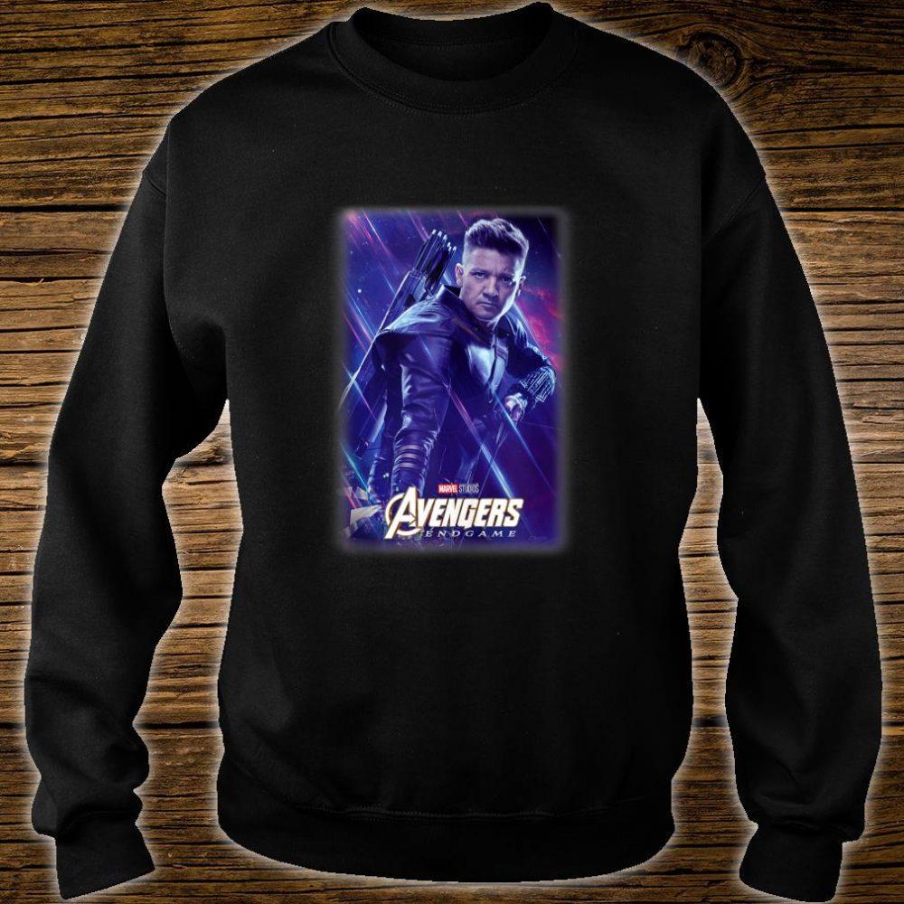 Marvel Avengers Endgame Hawkeye Galactic Poster Shirt sweater