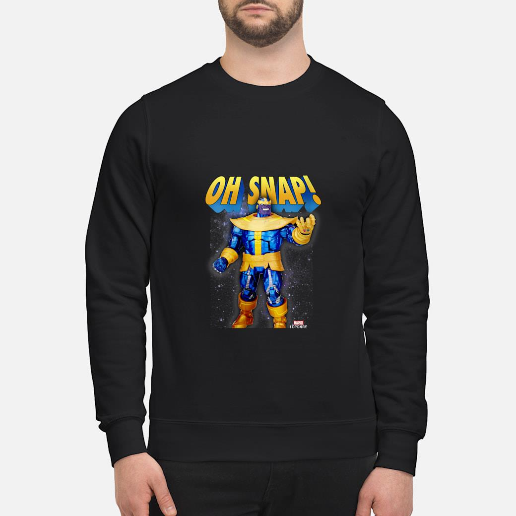 Marvel Legends Series Thanos Oh Snap Shirt sweater