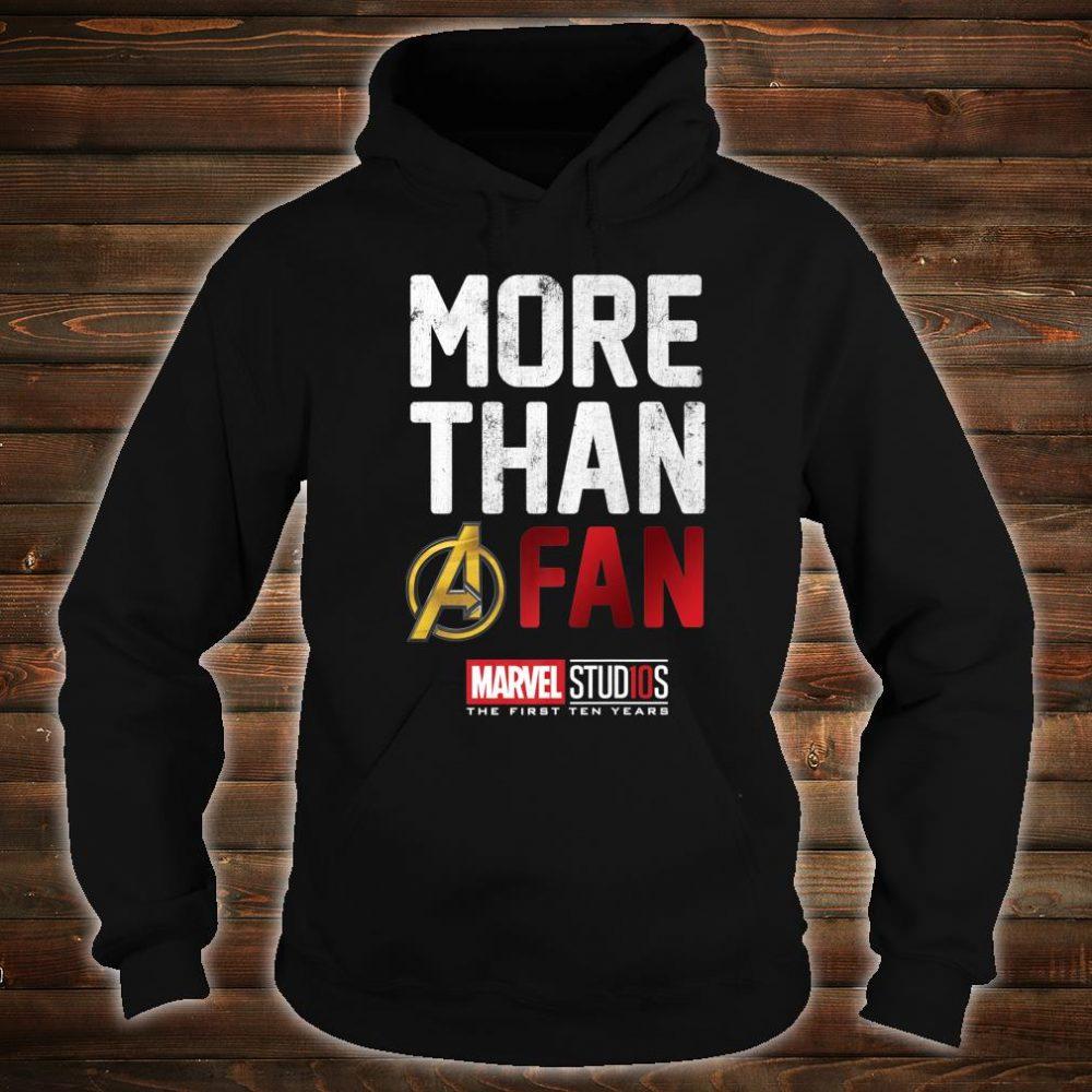 Marvel Studios Ten Years More Than A Fan Shirt hoodie