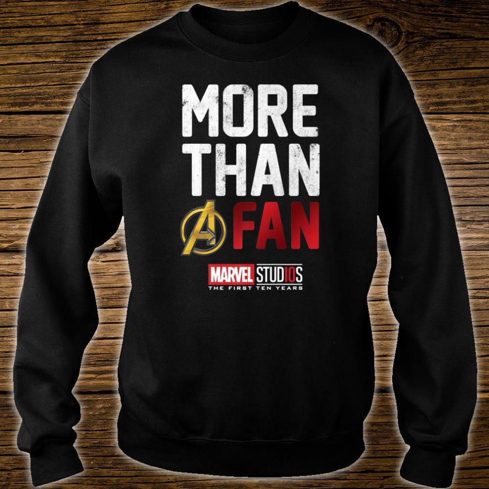 Marvel Studios Ten Years More Than A Fan Shirt sweater