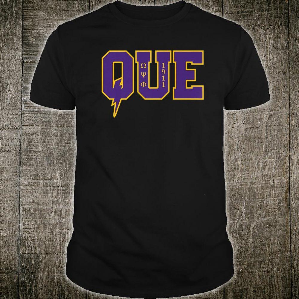 Mens Omega Psi Phi Fraternity, Inc. Shirt