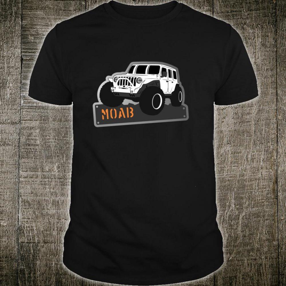 Moab Utah Adventure 4x4 Off Road Jeep Shirt