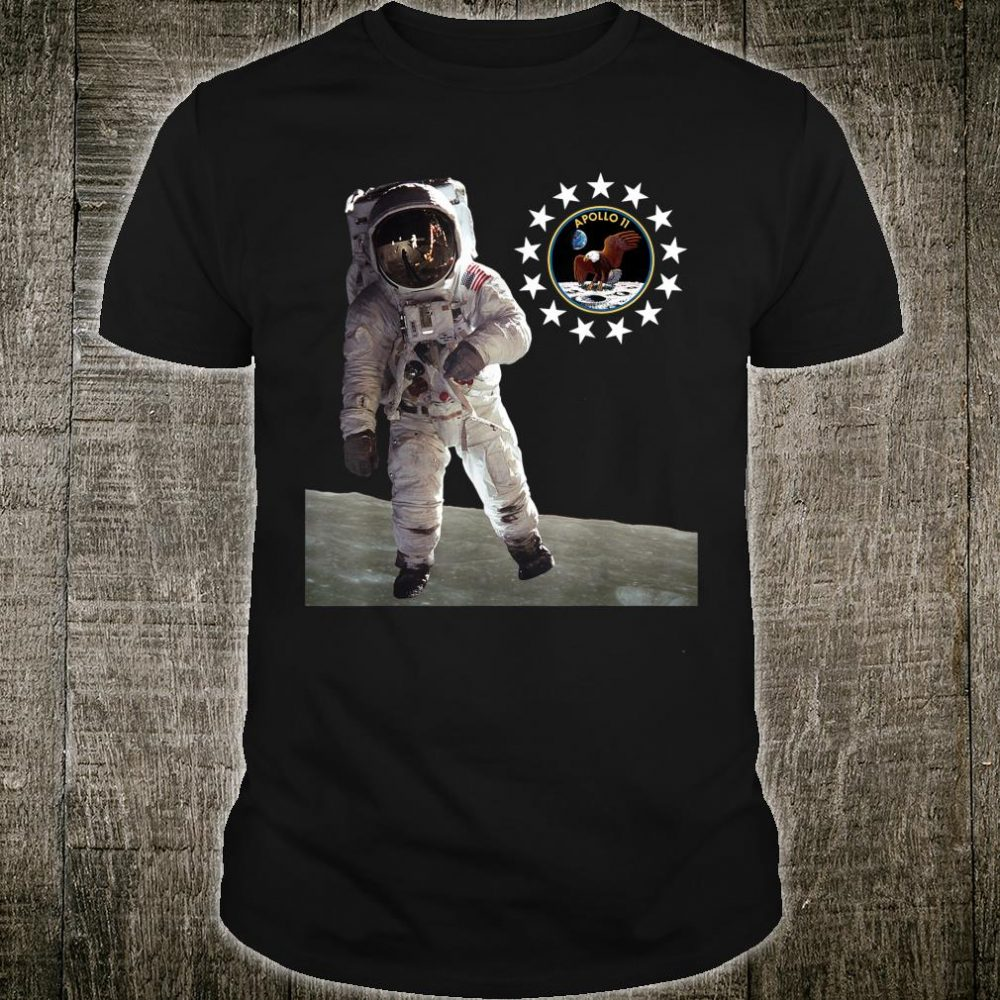 Moon Walk Apollo 11 50th Anniversary Moon Landing 1969 2019 Shirt