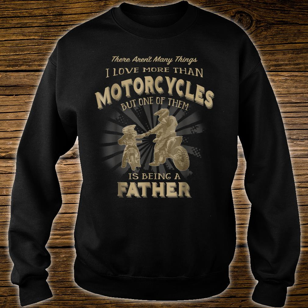 Motocross Father Like Son Being a Dirt Bike Dad Shirt sweater