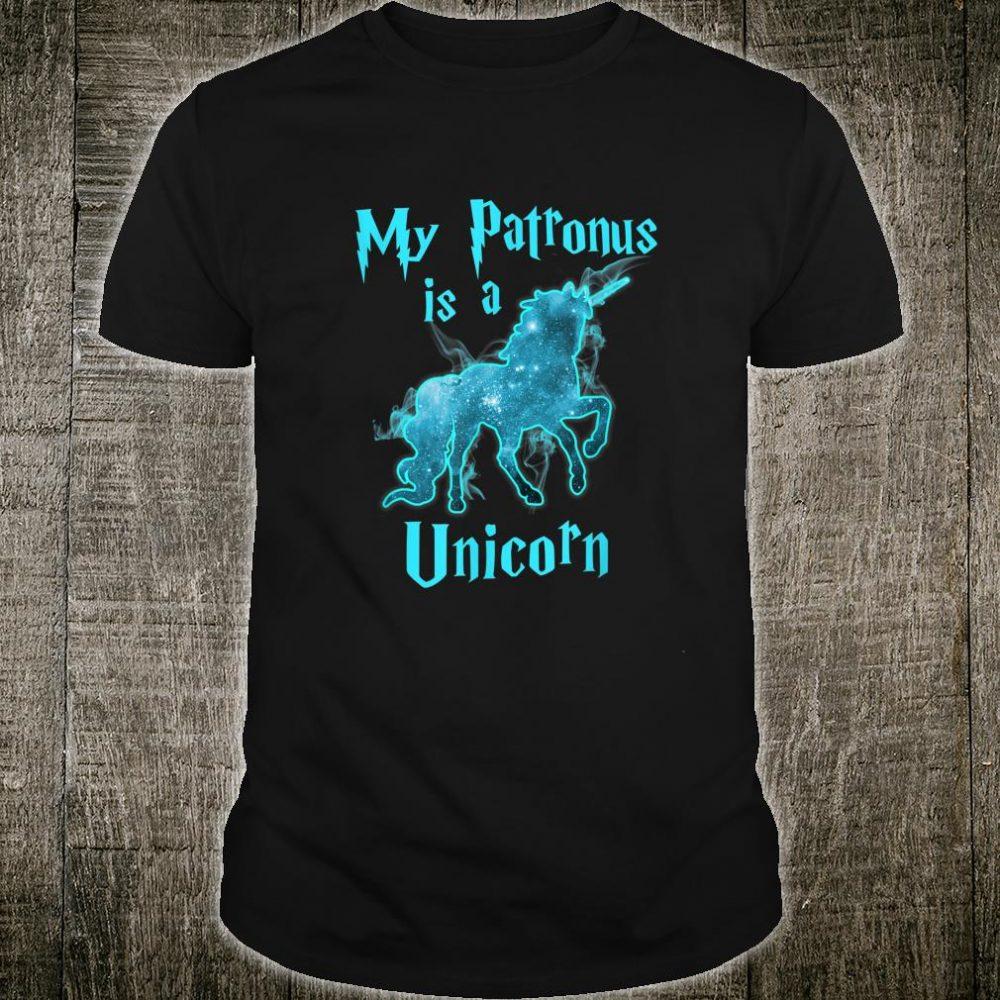 My Patronus Is A Unicorn Shirt Magical Mystical Shirt