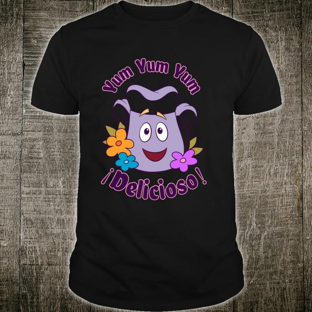Nickelodeon Dora The Explorer Backpack Yum Yum Delicioso Shirt