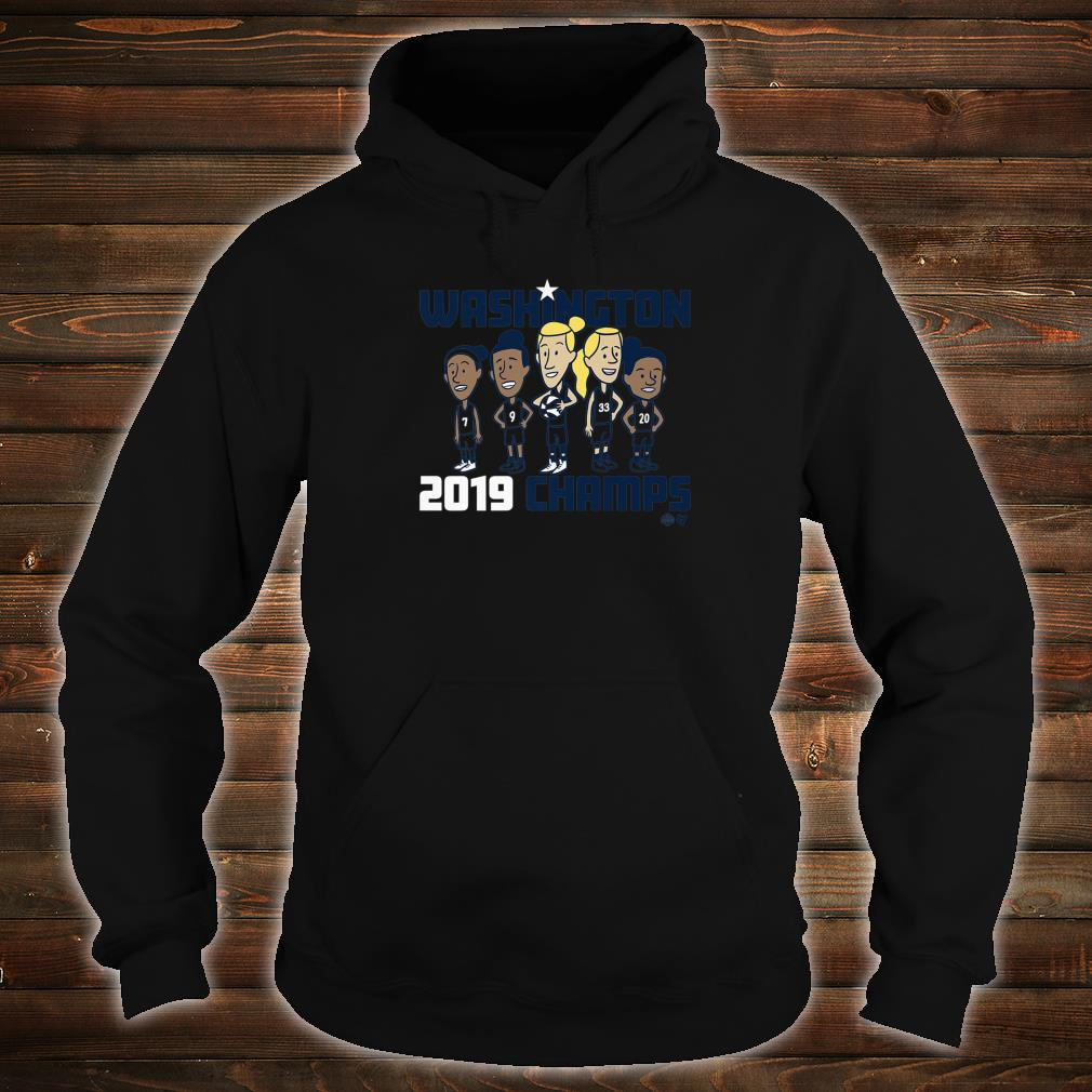 Officially Licensed Mystics Washington 2019 Champs Shirt hoodie