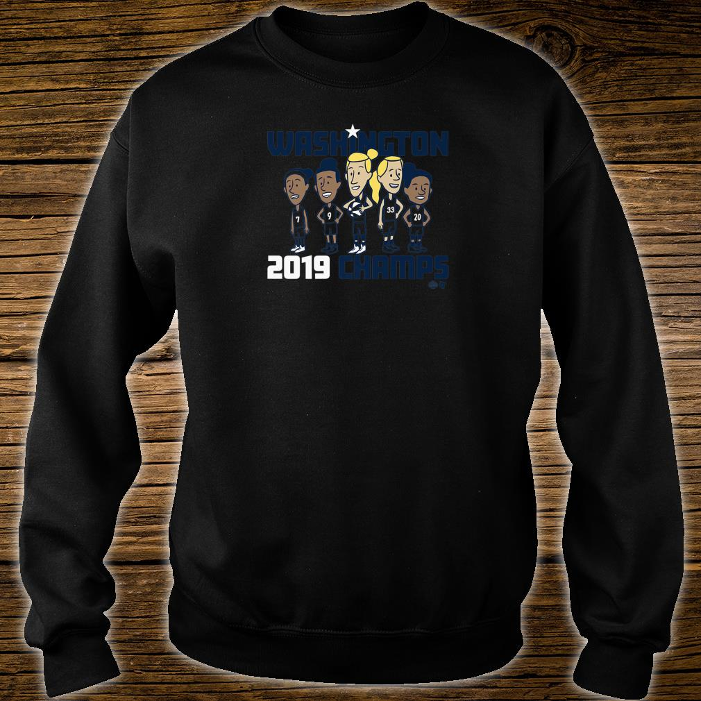 Officially Licensed Mystics Washington 2019 Champs Shirt sweater
