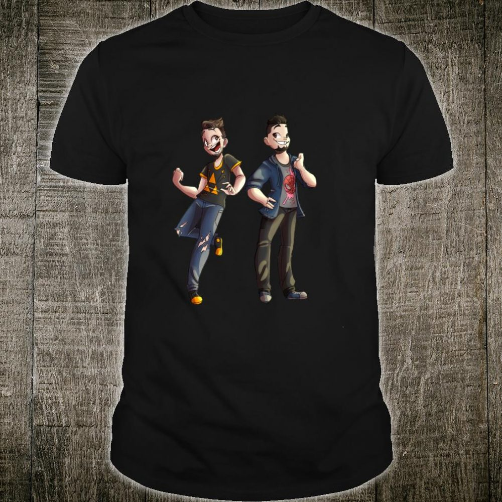 PK & Boser by Rabuubunni Shirt