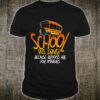 School Bus Driver Broom Halloween Shirt