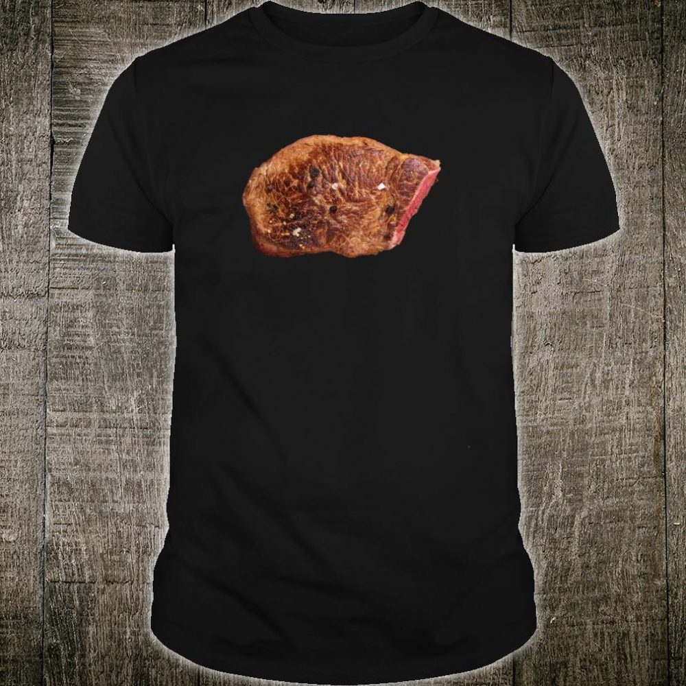 Steak Costume Halloween Sirloin Beefsteak Meat BBQ Food Shirt