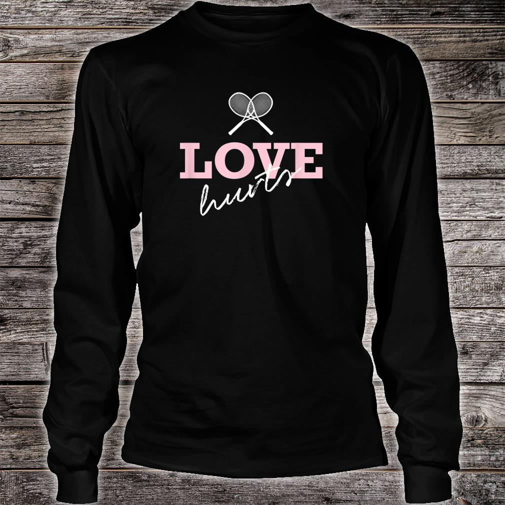Official Tennis Mom Players Team And Tournament Design Love Hurts Shirt Hoodie Tank Top And Sweater,Short Diamond Mangalsutra Designs Latest