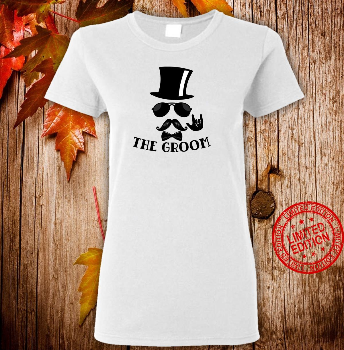 The Groom Bachelor Party Wedding Bridal Party Shirt ladies tee