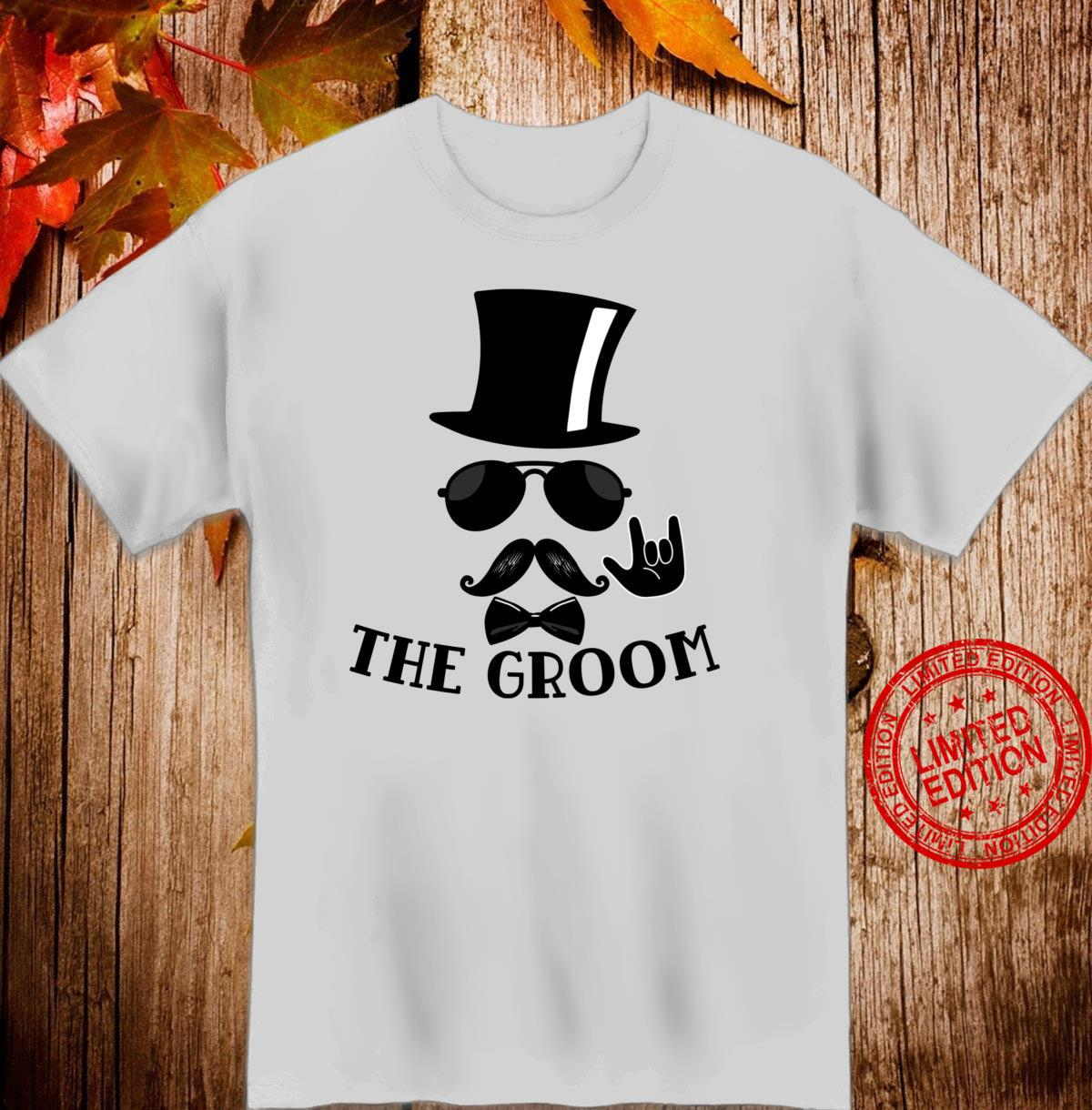 The Groom Bachelor Party Wedding Bridal Party Shirt