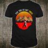 Vintage The Tug Is My Drug Fisher Sunset Shirt