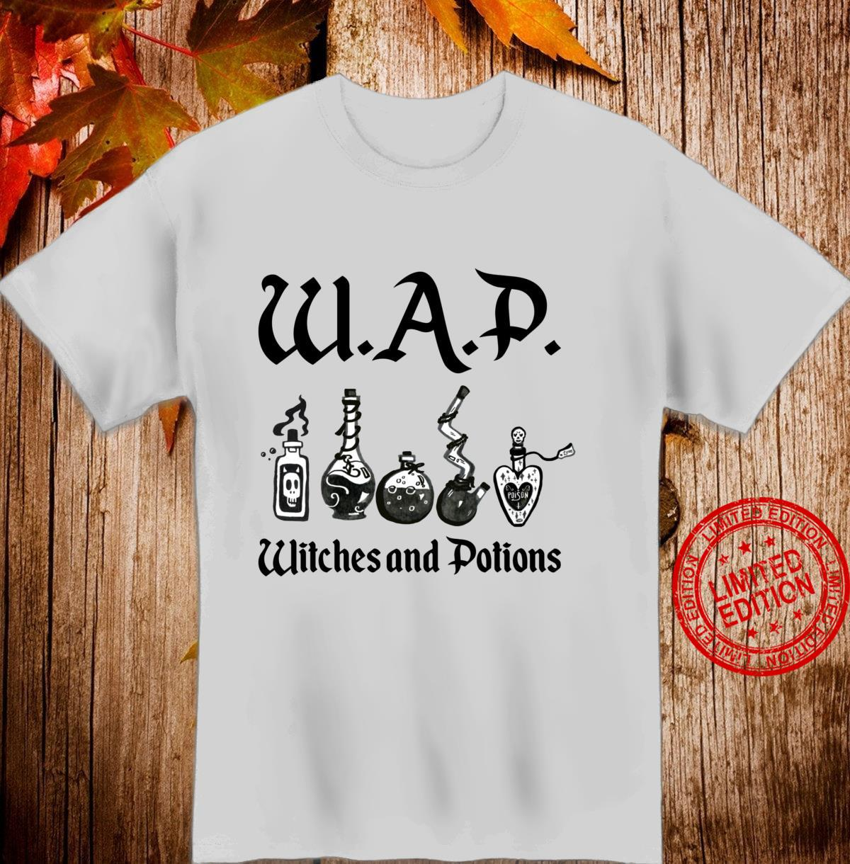 WAP Witches And Potions Halloween Costume Witchcraft Meme Shirt
