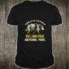 Yellowstone National Park US Wolf Vintage Shirt